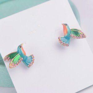 Kate Spade Diamond Hummingbird Earring